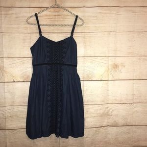 New Romantics free people size small jean dress